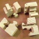 Scroll Saw Puzzle Cubes