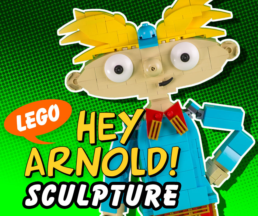 LEGO Hey Arnold! Sculpture