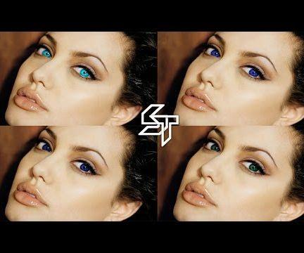 Change Eye Color - Photoshop Tutorial