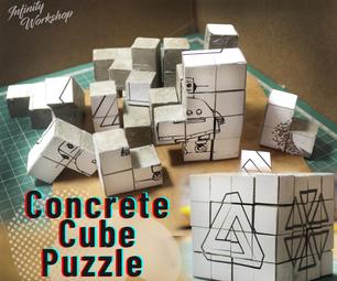 Concrete Cube Puzzle