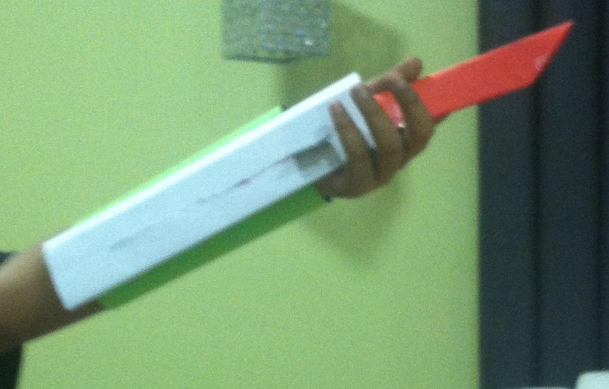 Assassins Creed Paper Hidden Blade