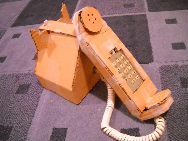 How to Make a Cardboard Telephone