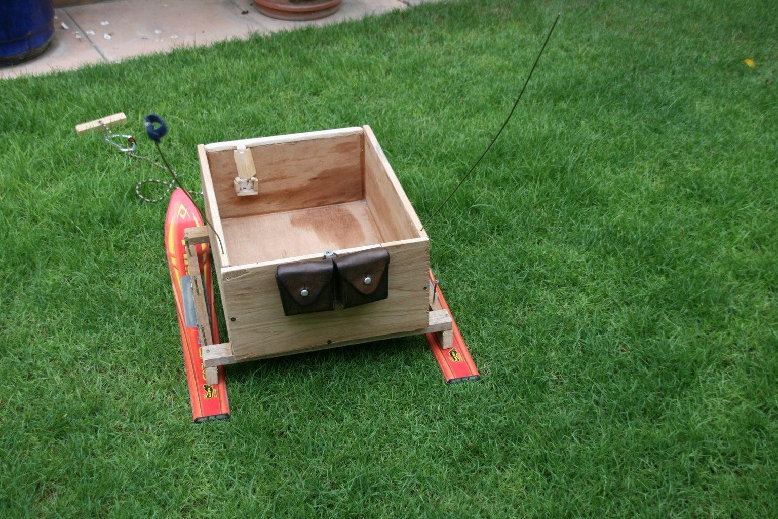 Transportation Box Sledge