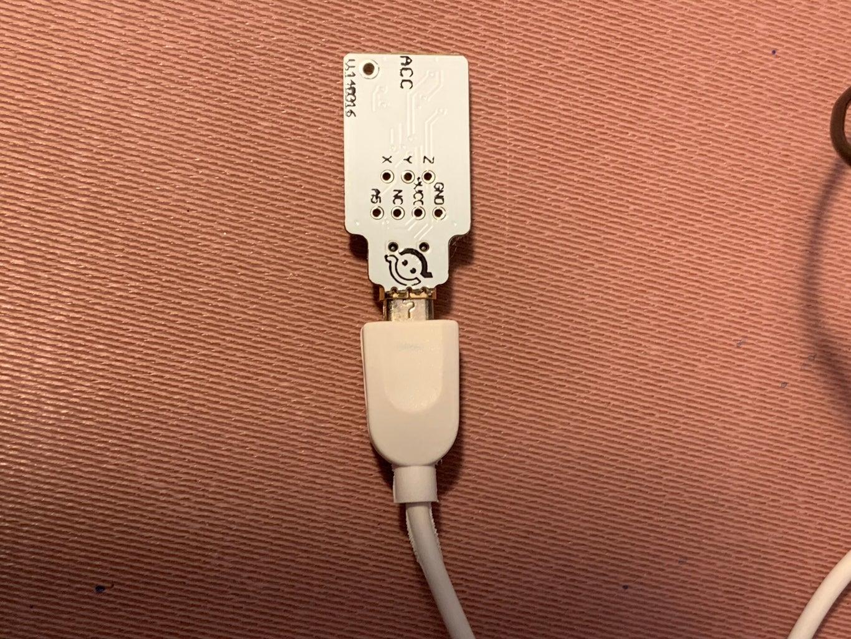 Circuit Step 8 - Connecting ACC Sensor