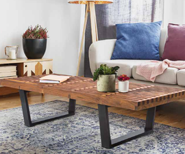 How to Make MODERN COFFEE TABLE - Woodworking Project