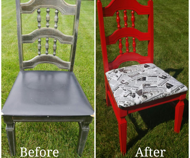 Refurbishing a Chair
