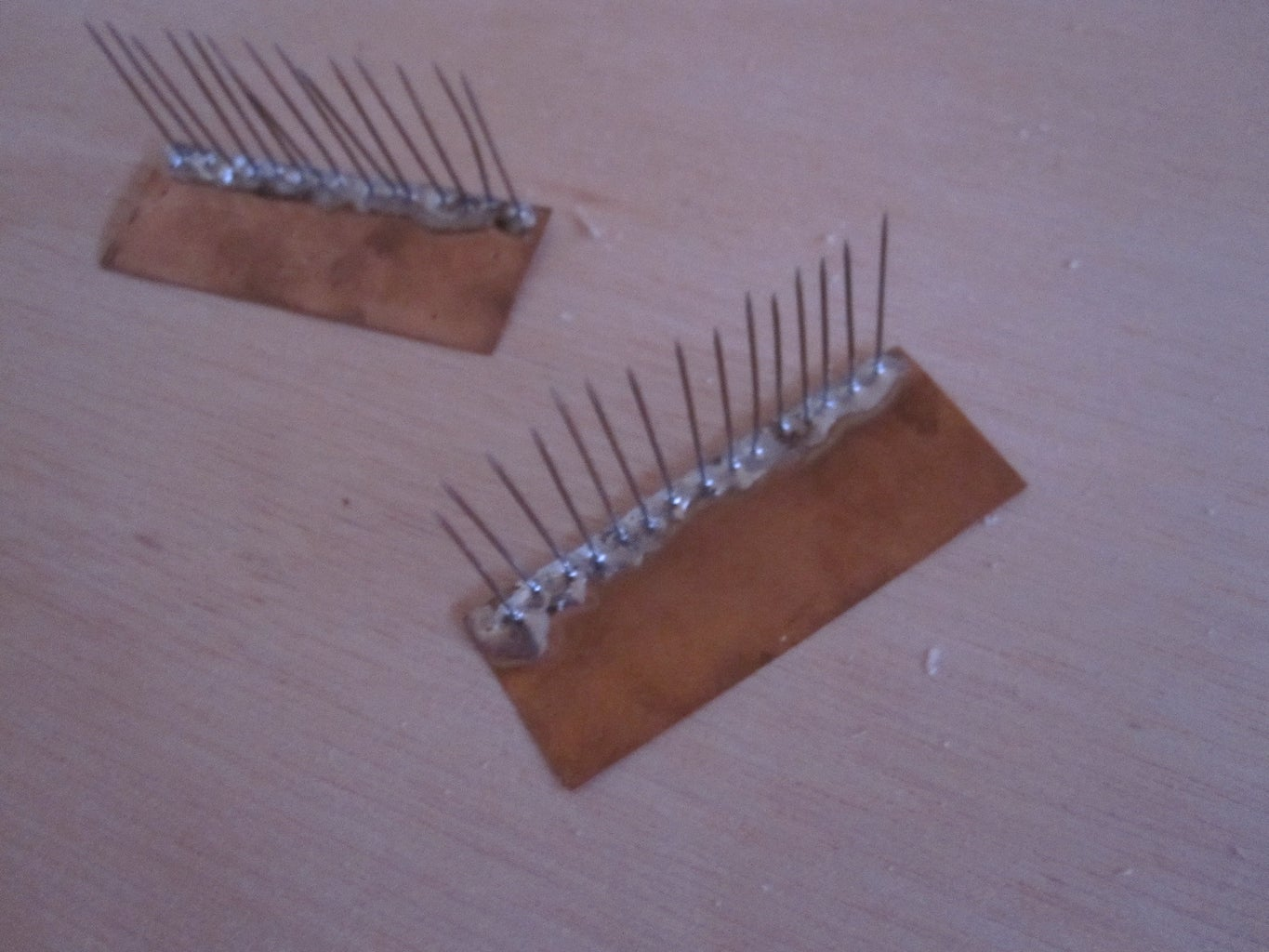 Making the Brushes