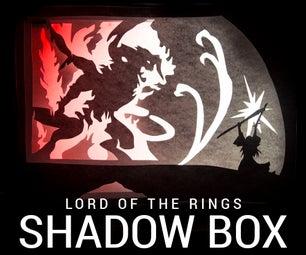 Shadow Box: Gandalf Fighting the Balrog!