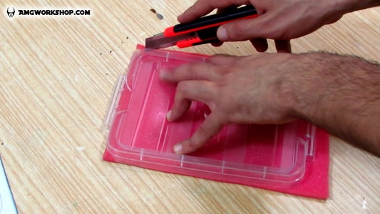 Cutting the Filter and Filter Holder
