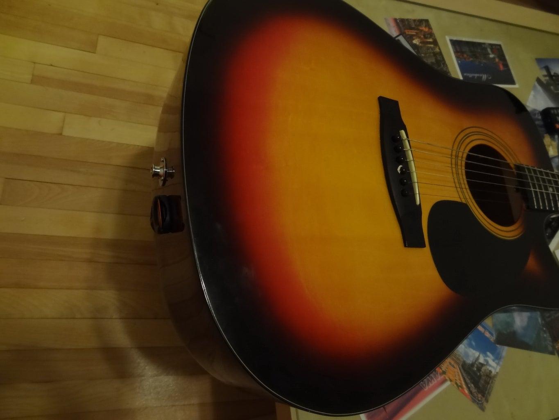 The Pick Holder on Guitars