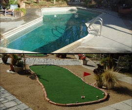 Convert Swimming Pool to Putting Green