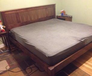 King Size Platform Bed