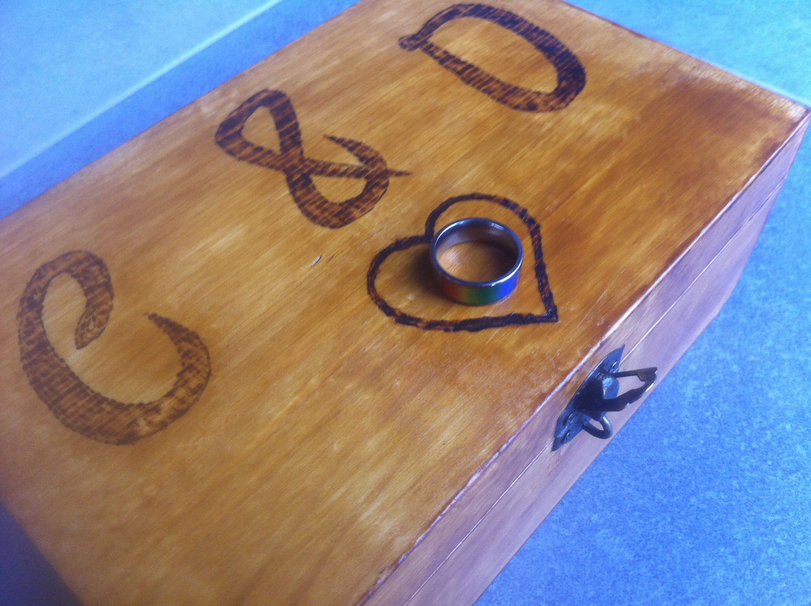 NFC Ring Lock Box