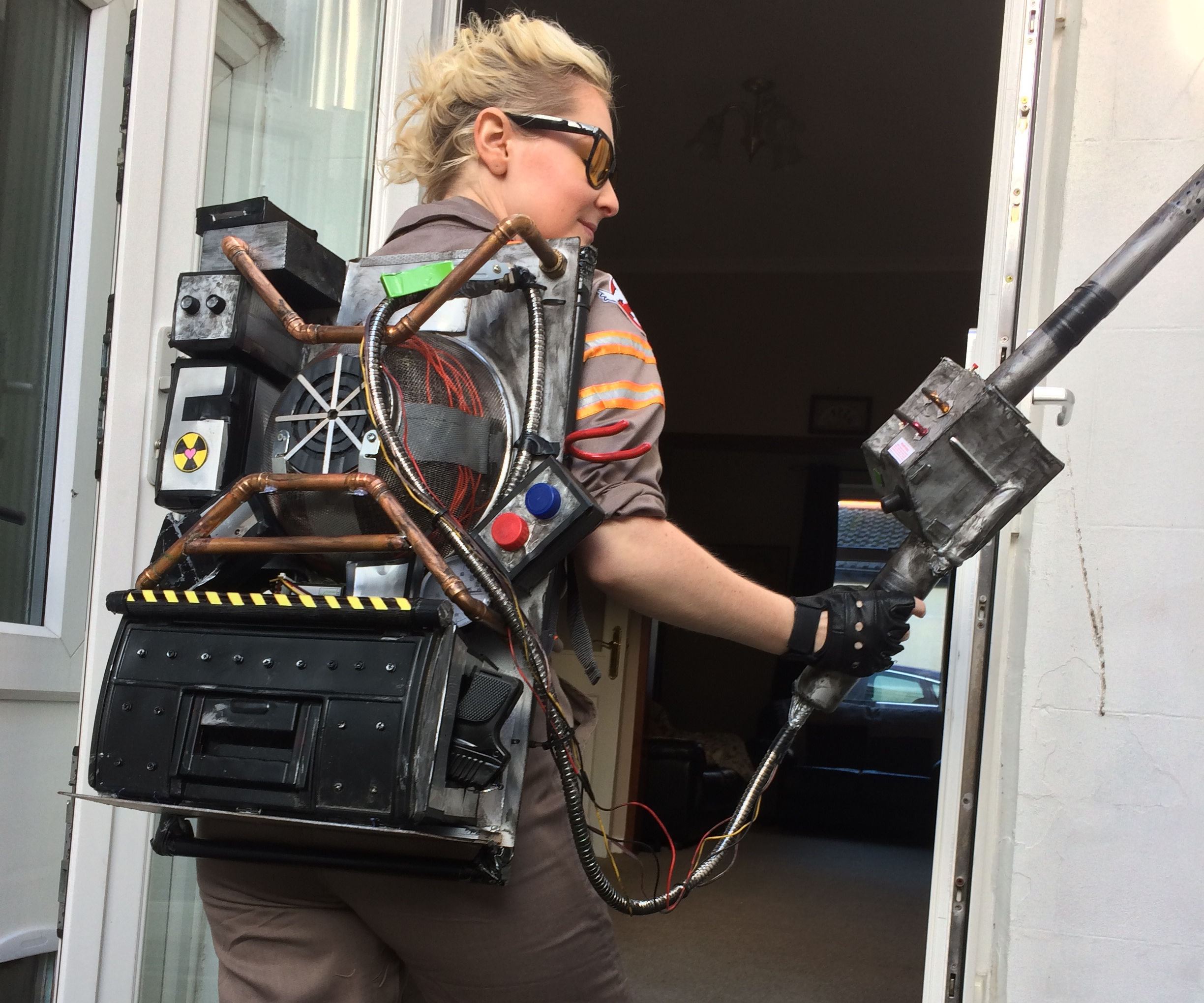 Scratch built Ghostbusters 2016 Proton Pack