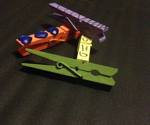 Painted Chip Clips