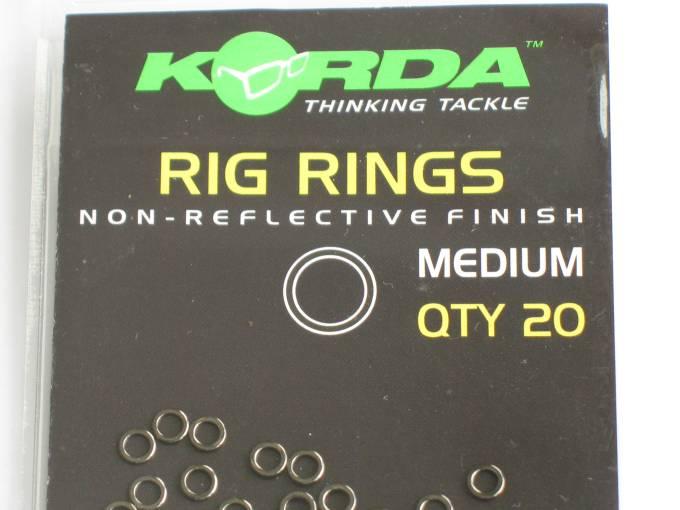 für Rig Rings Shod Blow Back Rigs NEW OVP Korda Hook Bead 20 St