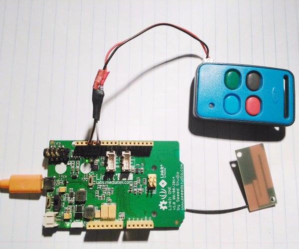 SMS Controlled Gate/Garage Remote