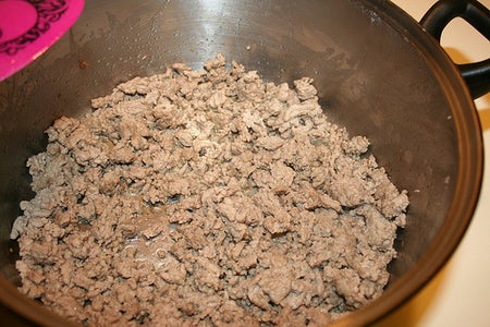 Step One: Brown the Meat