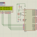 8051 Interfacing With DS1307 RTC and Displaying Timestamp in LCD