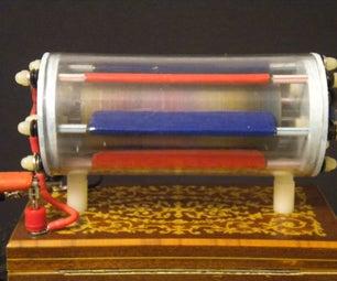 Finishing Details for the Electrostatic Turbine