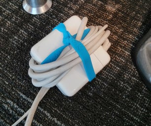 Rubber Bracelets Keep Your Power Cable Organized