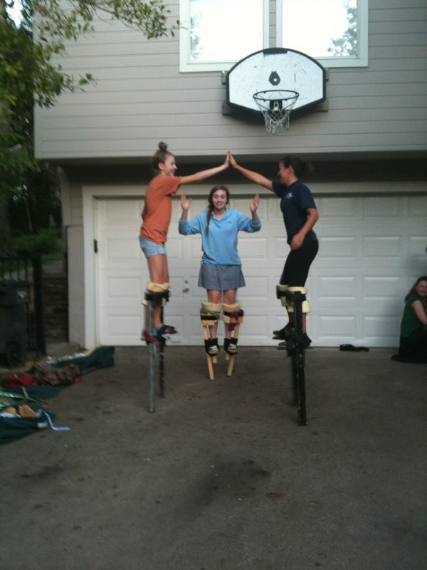 How to Walk on Stilts