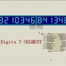 24 Digit 7-Segment Simulation+Coding