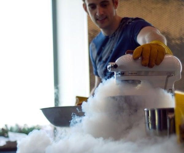 30 Second Liquid Nitrogen Ice Cream