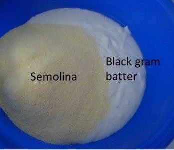 Add Semolina