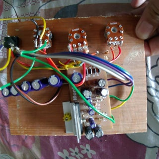 Stereo 6283 Audio Amplifier Simple