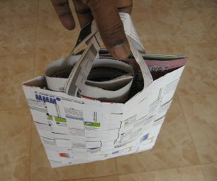 How to Make a Paper Tote Bag
