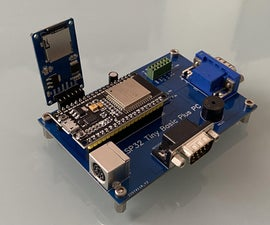 ESP32 PC With Tiny Basic on Steroids