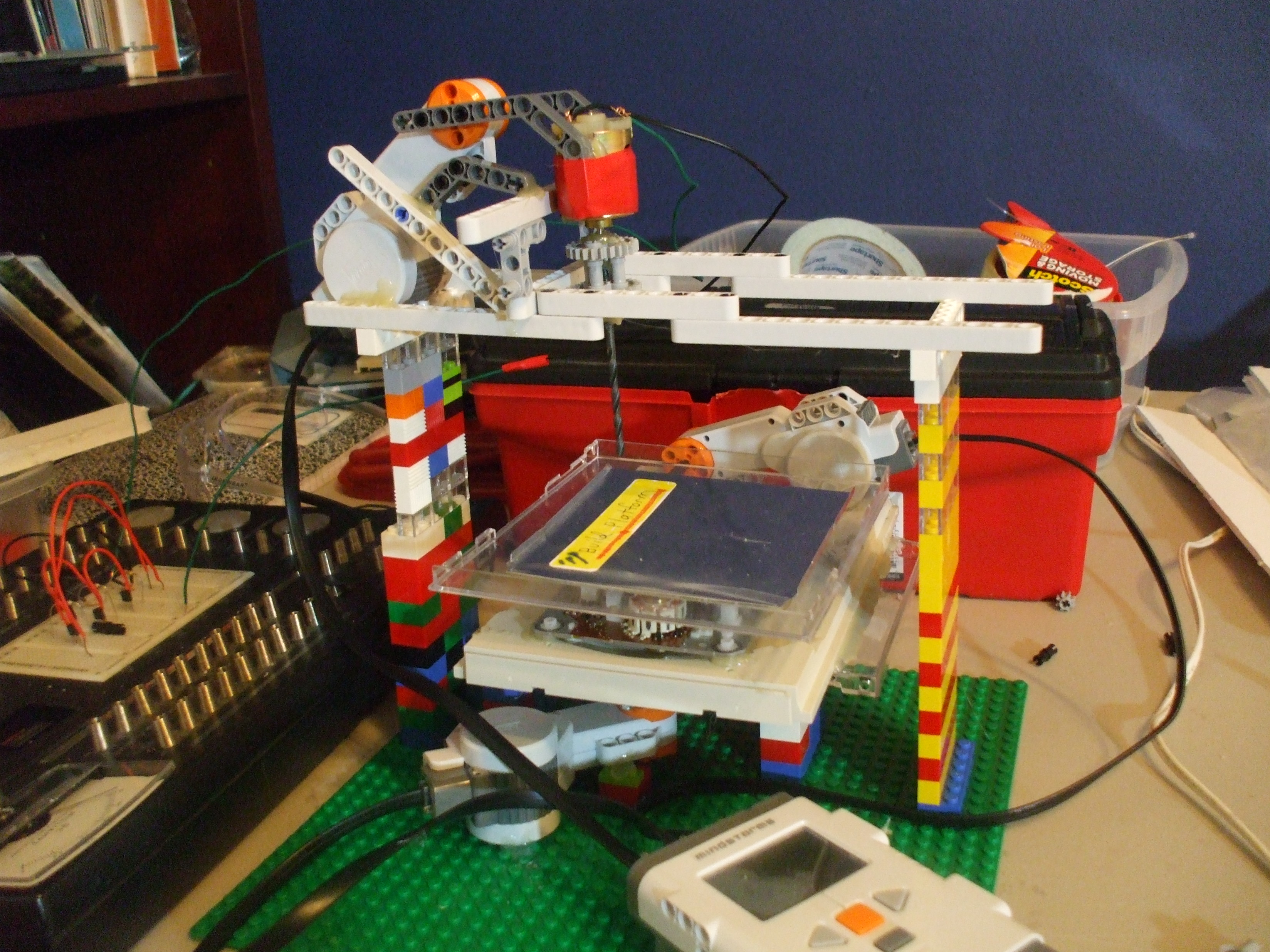 Lego CNC/Laser Cutter