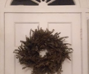 Great-smelling, Great-looking Traditional Christmas Wreath Out of Essentially Nothing