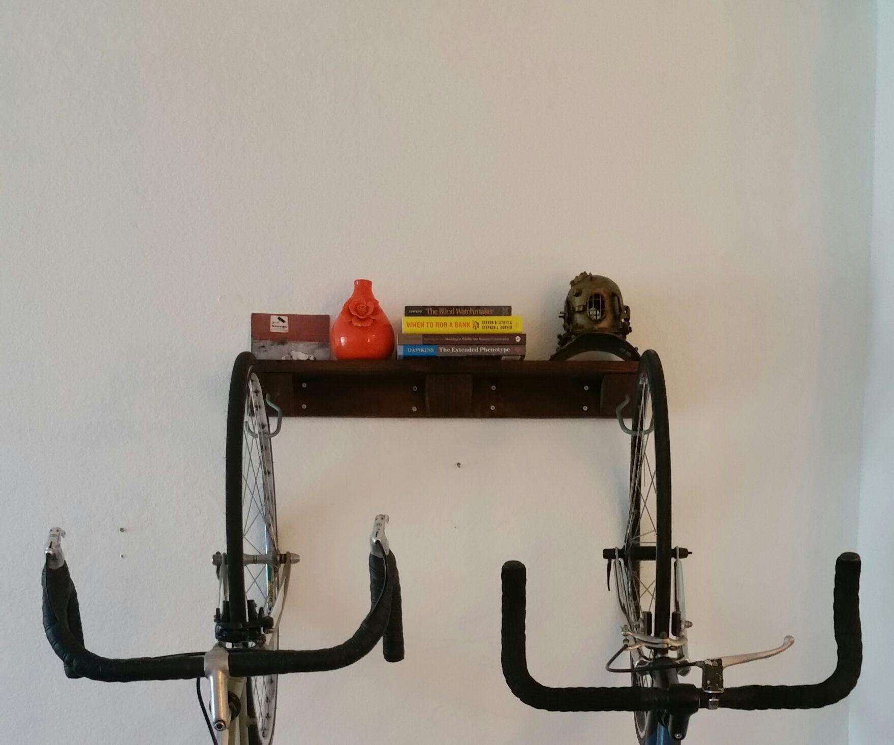 Bike Rack Shelf
