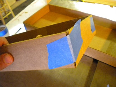 Making the Tray Shelves