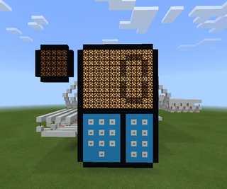 Redstone Addition Calculator in Minectaft