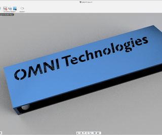 Learn Fusion 360 by Designing a Light Up Name Sign!
