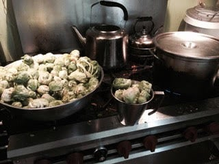 Boil Water for Brussels Sprouts