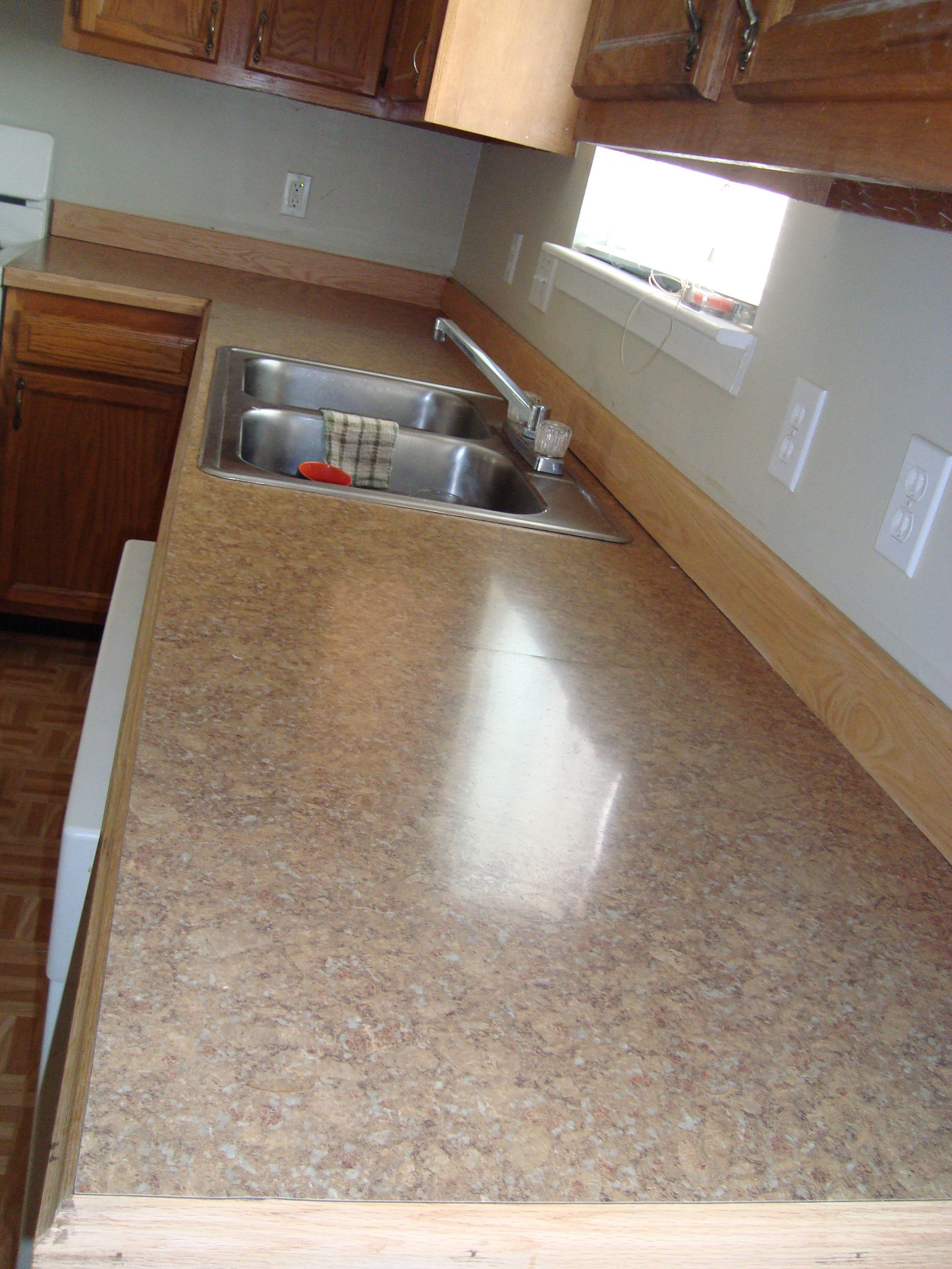 Change Your Countertop And Upgrade On The Cheap 8 Steps With Pictures Instructables