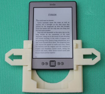 Slide in Kindle and You Are Ready to Go.