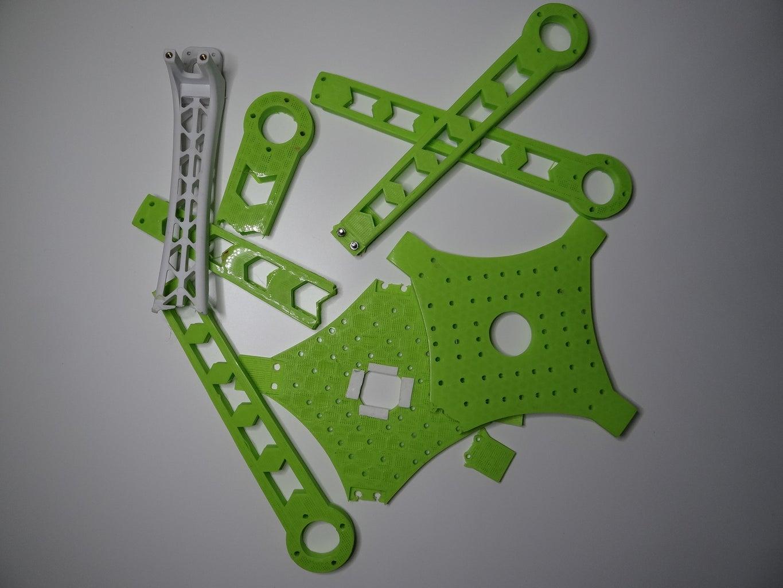 Failed 3D Printed Frame