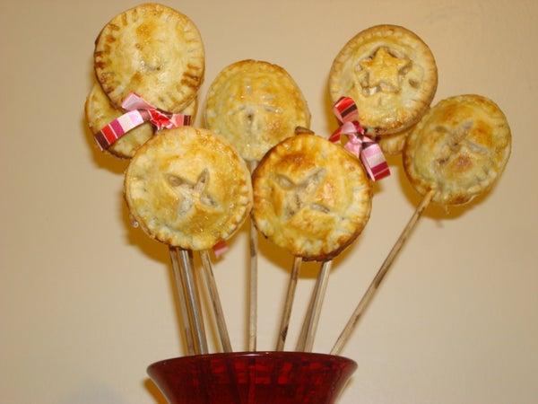Apple Ginger Pie Pops