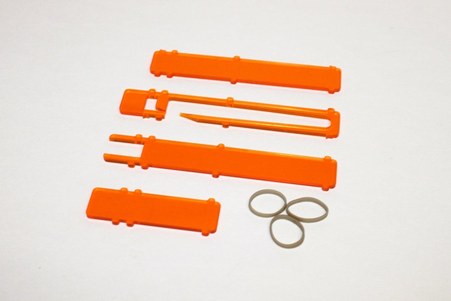 Materials, Parts and Tools: