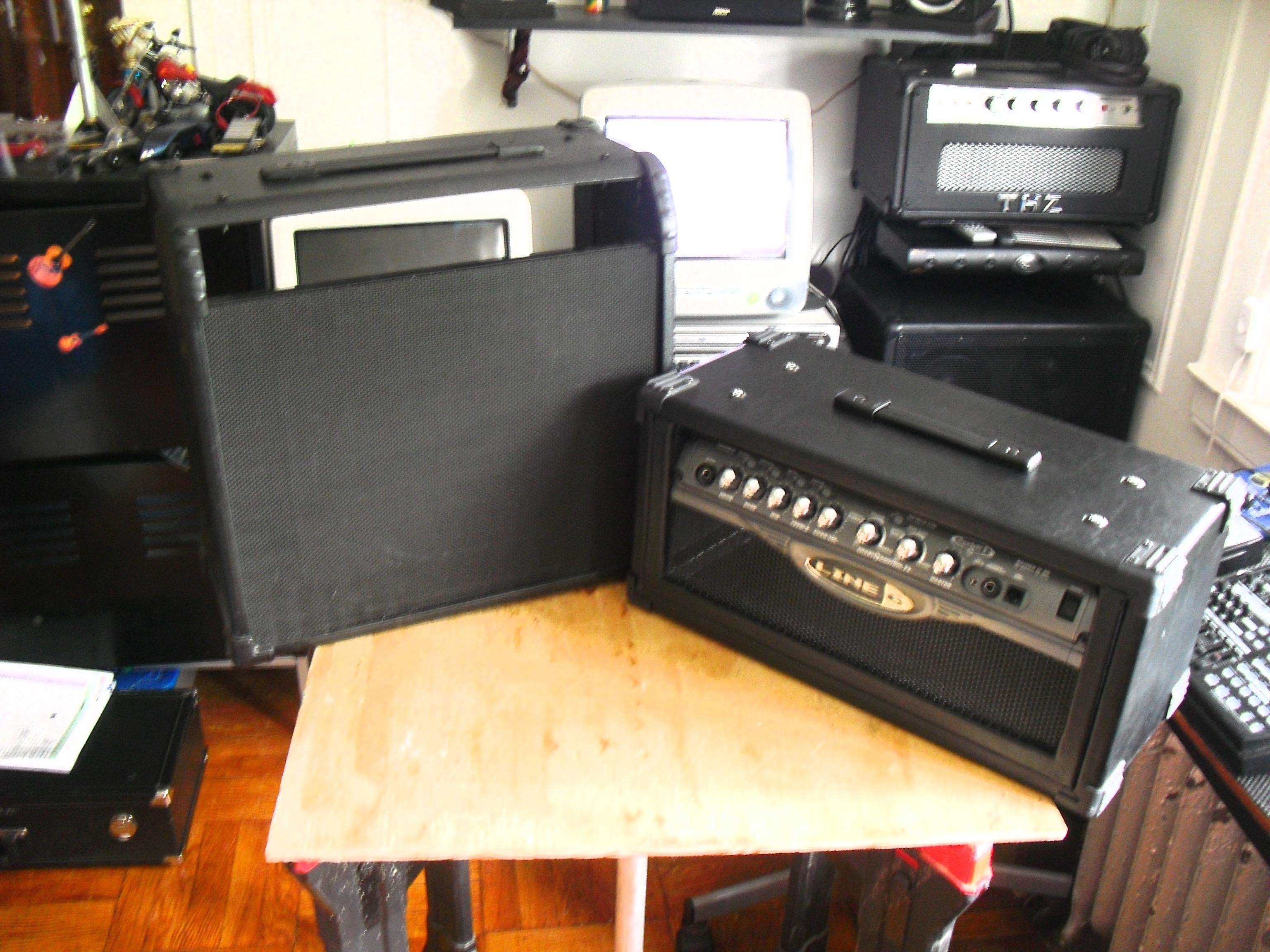 ELECTRIC GUITAR AMP MODIFICATION