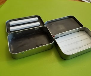 Altoids Tin Fly Box