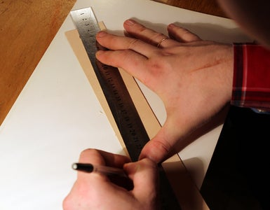Drawing Our Cuff.