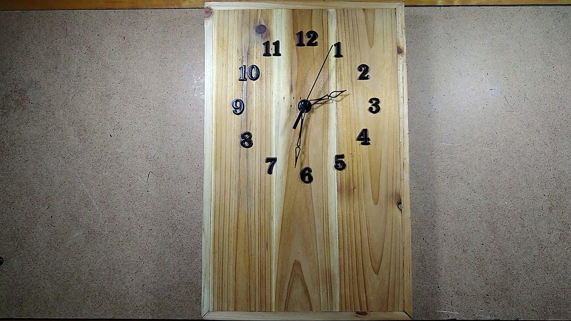 Installing the Clock Hands