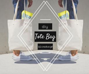 DIY: Tote Bag (Easy).