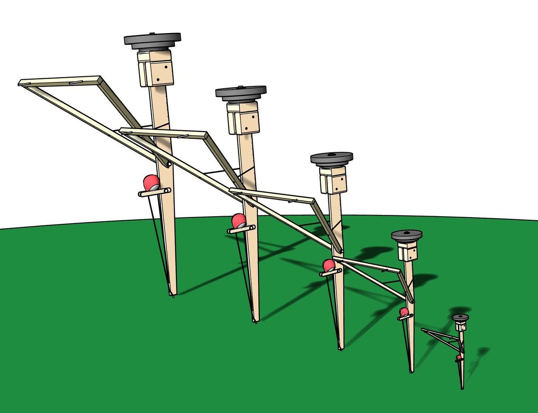 Scaling Trebuchets (increasing or Decreasing Size)